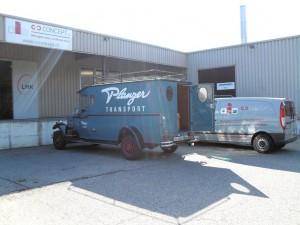 Création de la société en 2009 dans un garage